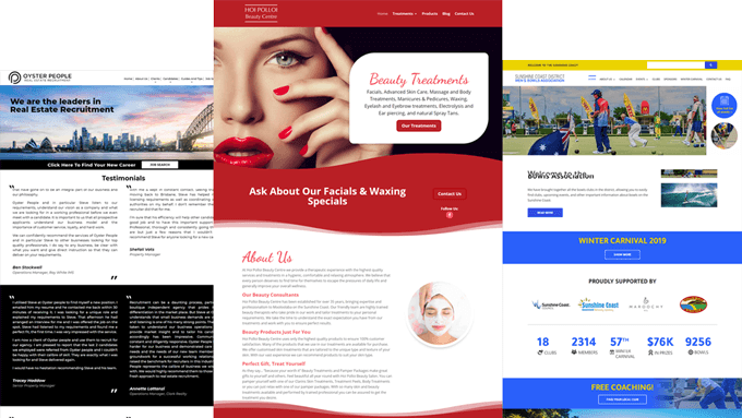 Website Design Sunshine Coast QLD AU